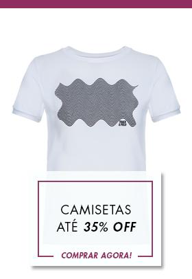 Kids Camisetas menina Até 35%