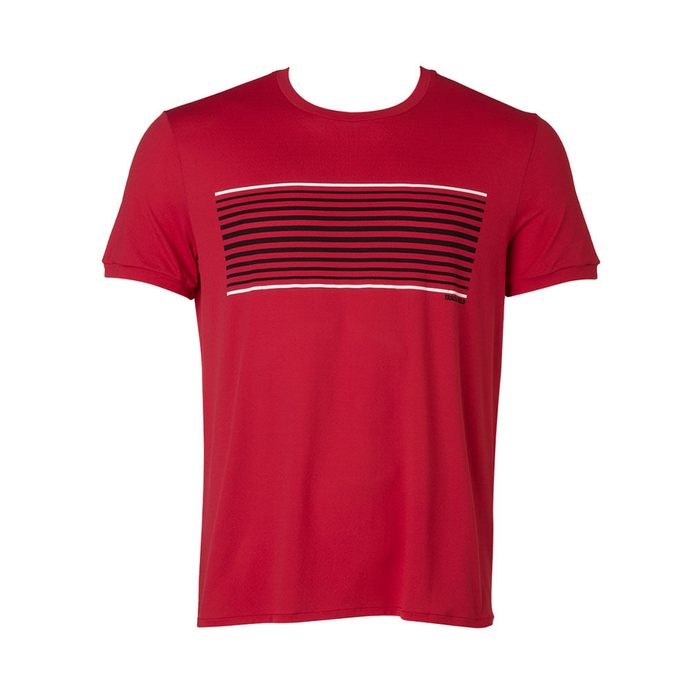 Camiseta Masculina Thermodry Listrada Basic - trackfield - outlet 33587a6d86b