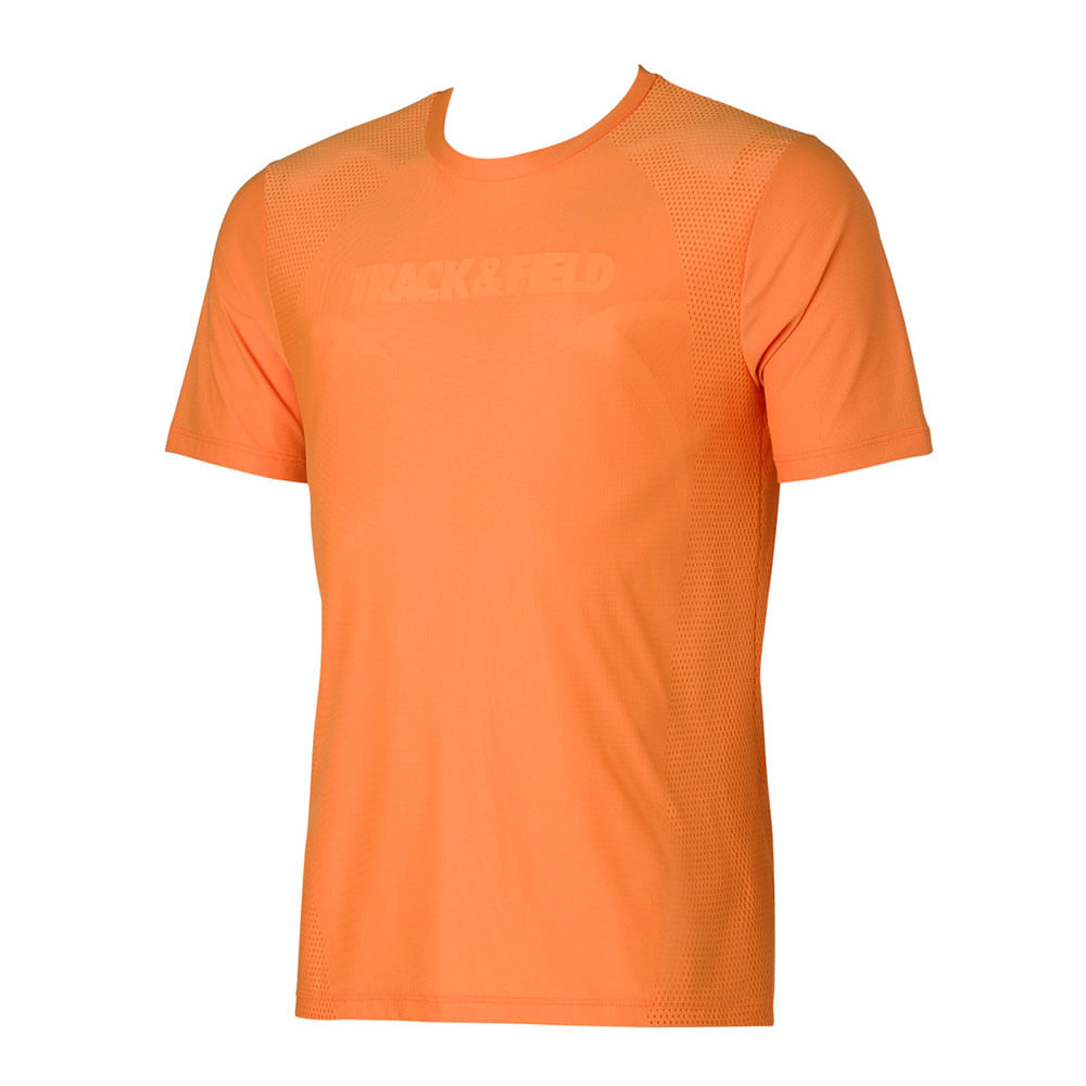 Camiseta Masculina Thermodry Textura Basic Inverno - trackfield - outlet 84925d5d458