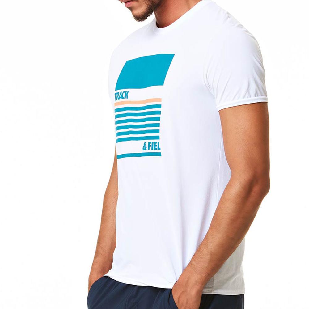 Camiseta Masculina Thermodry Manga Curta Bloco Basic - trackfield ... 6162ddcc564