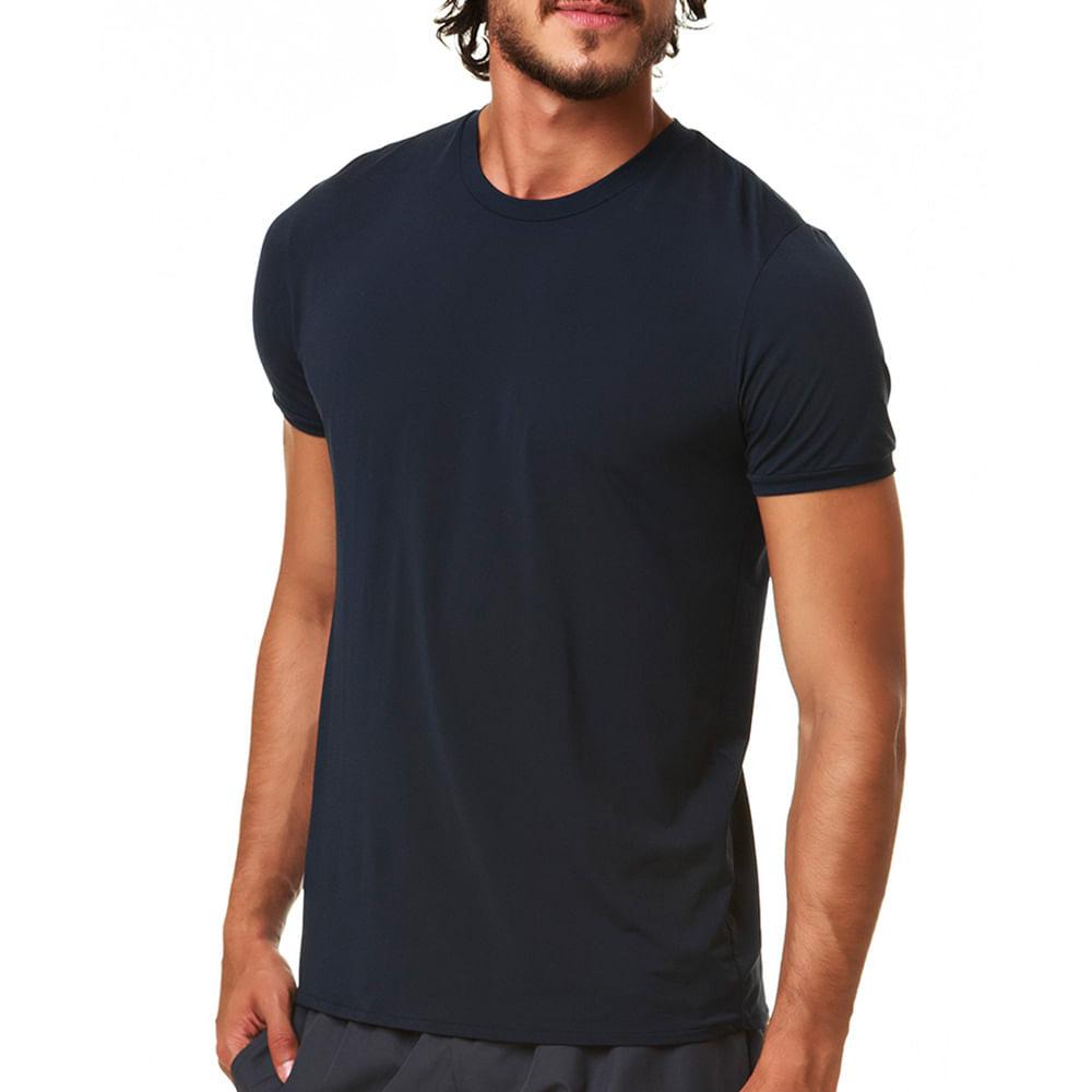 Camiseta Masculina Thermodry Manga Curta Push Basic - trackfield ... 6aeb1b92435
