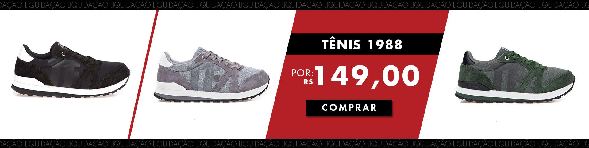 Liquidação i19 banner tênis