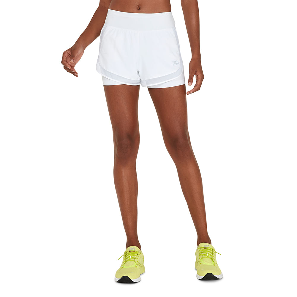 SHORTS FEMININO COM BERMUDA STRETCH