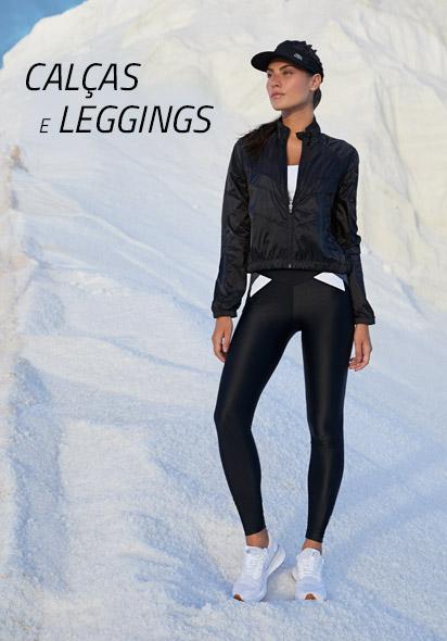 calças e leggings