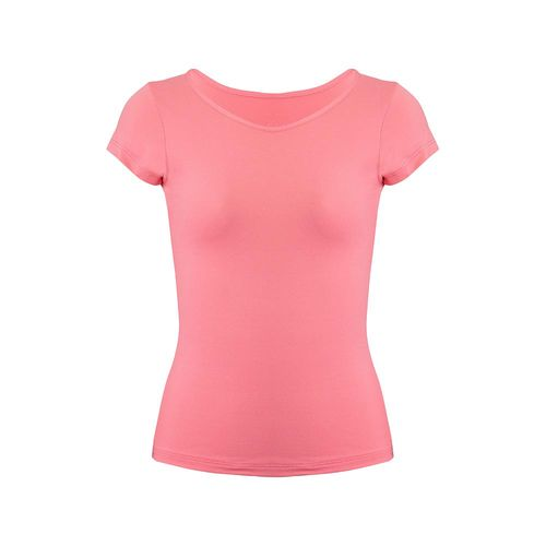 camiseta-basica-infantil-rosa-frente