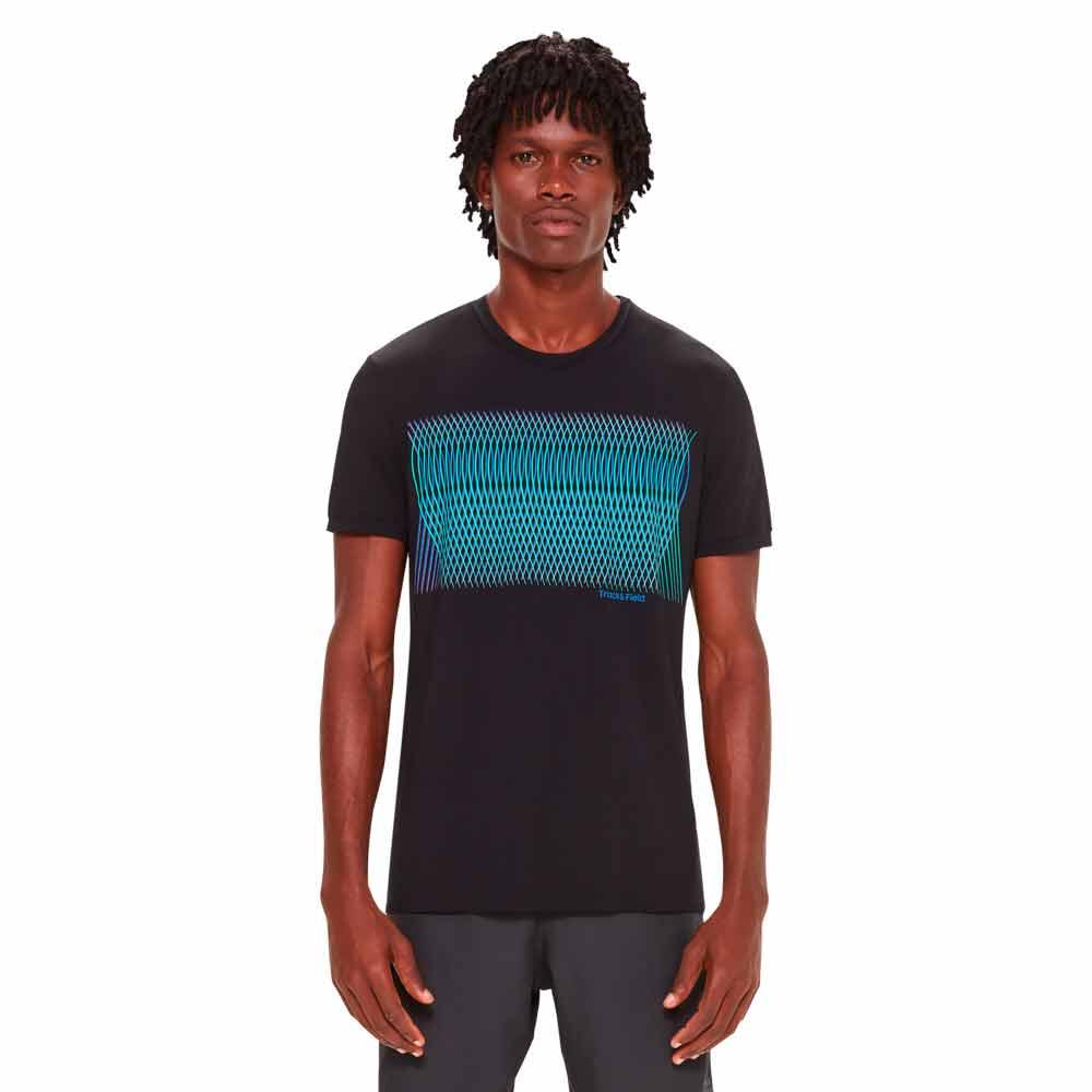 Camiseta-masculina-manga-curta-thermodry-trama-preta-frente