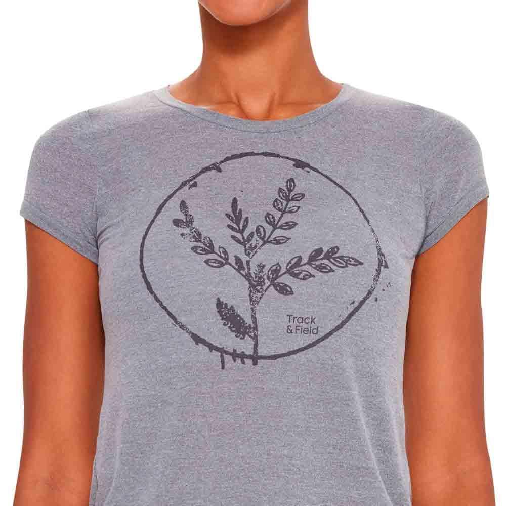 camiseta-feminina-thermodry-mescla-cinza-detalhe