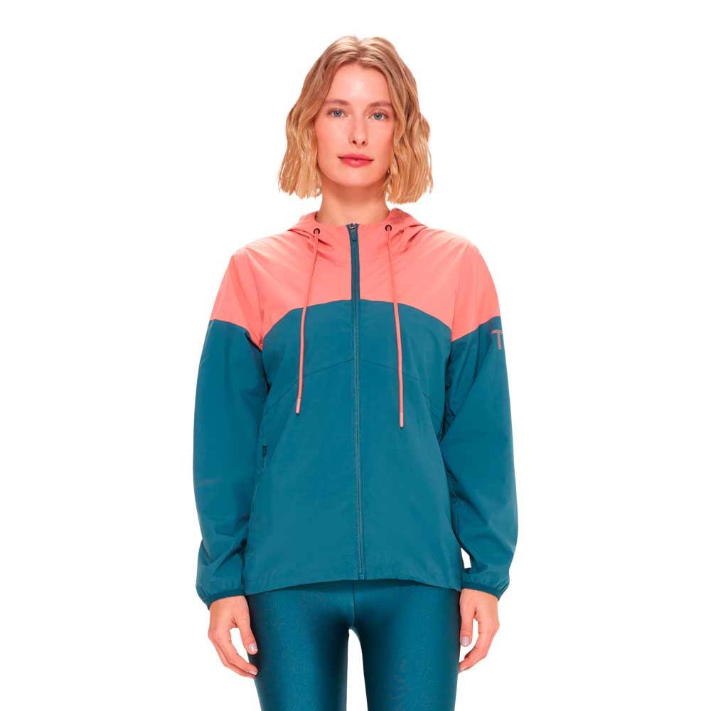 jaqueta-corta-vento-impermeavel-feminino-azul-e-rosa-frente