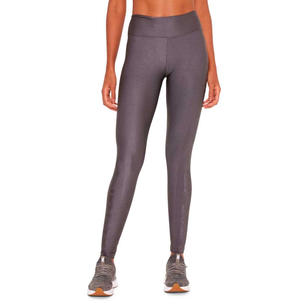 calca-legging-feminina-cinza-jacquard-frente