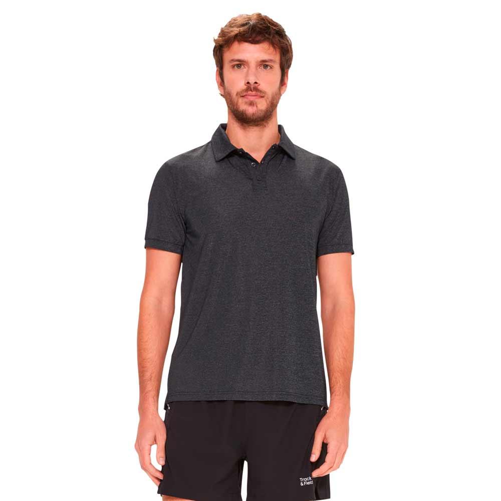 camiseta-polo-masculina-basica-cinza-frente