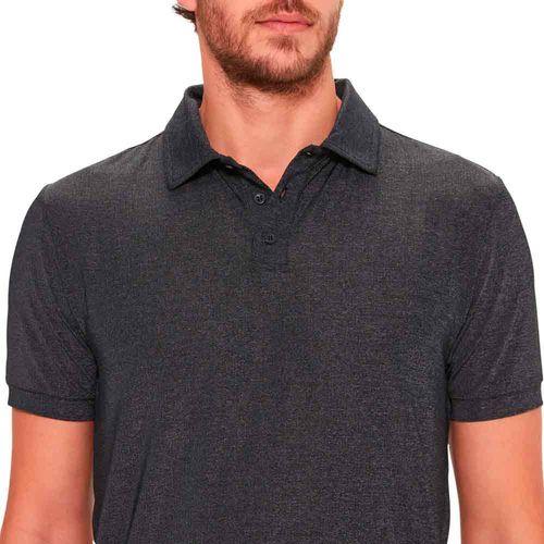 camiseta-polo-masculina-basica-cinza-detalhe