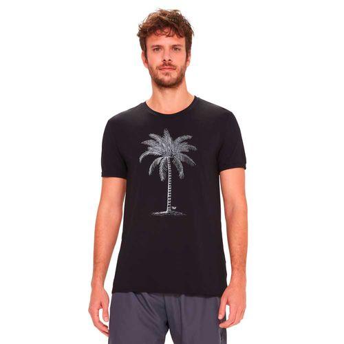camiseta-basica-masculina-preta-estampada-frente