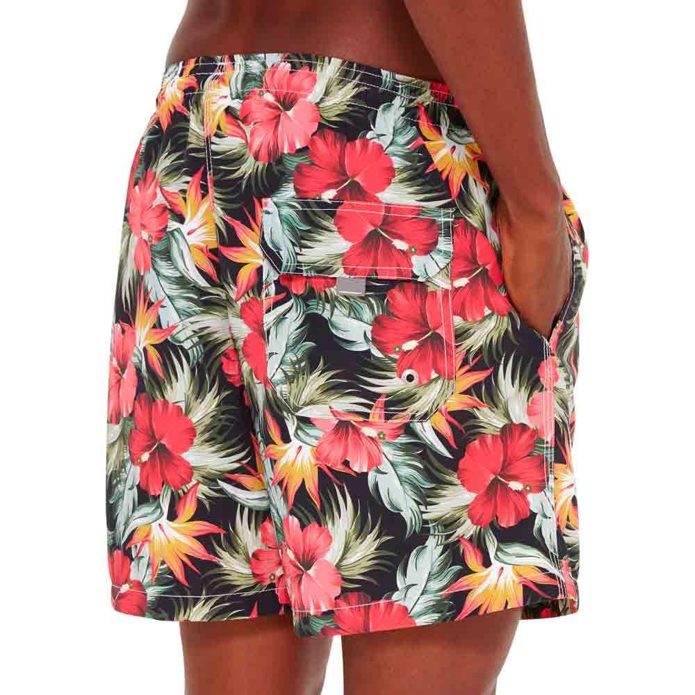 shorts-de-praia-masculino-estampado-detalhe