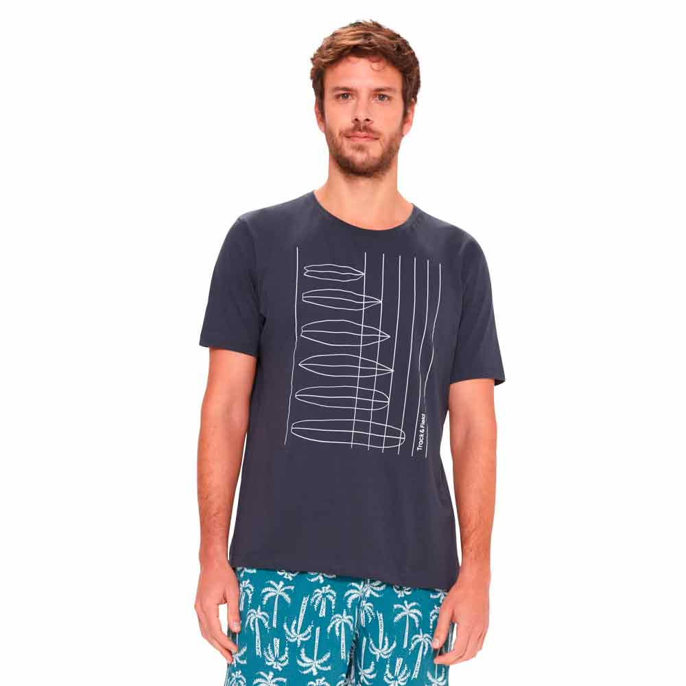 camiseta-masculina-estampada-azul-escuro-frente