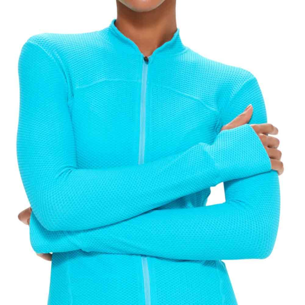 casaco-feminino-esportivo-azul-detalhe