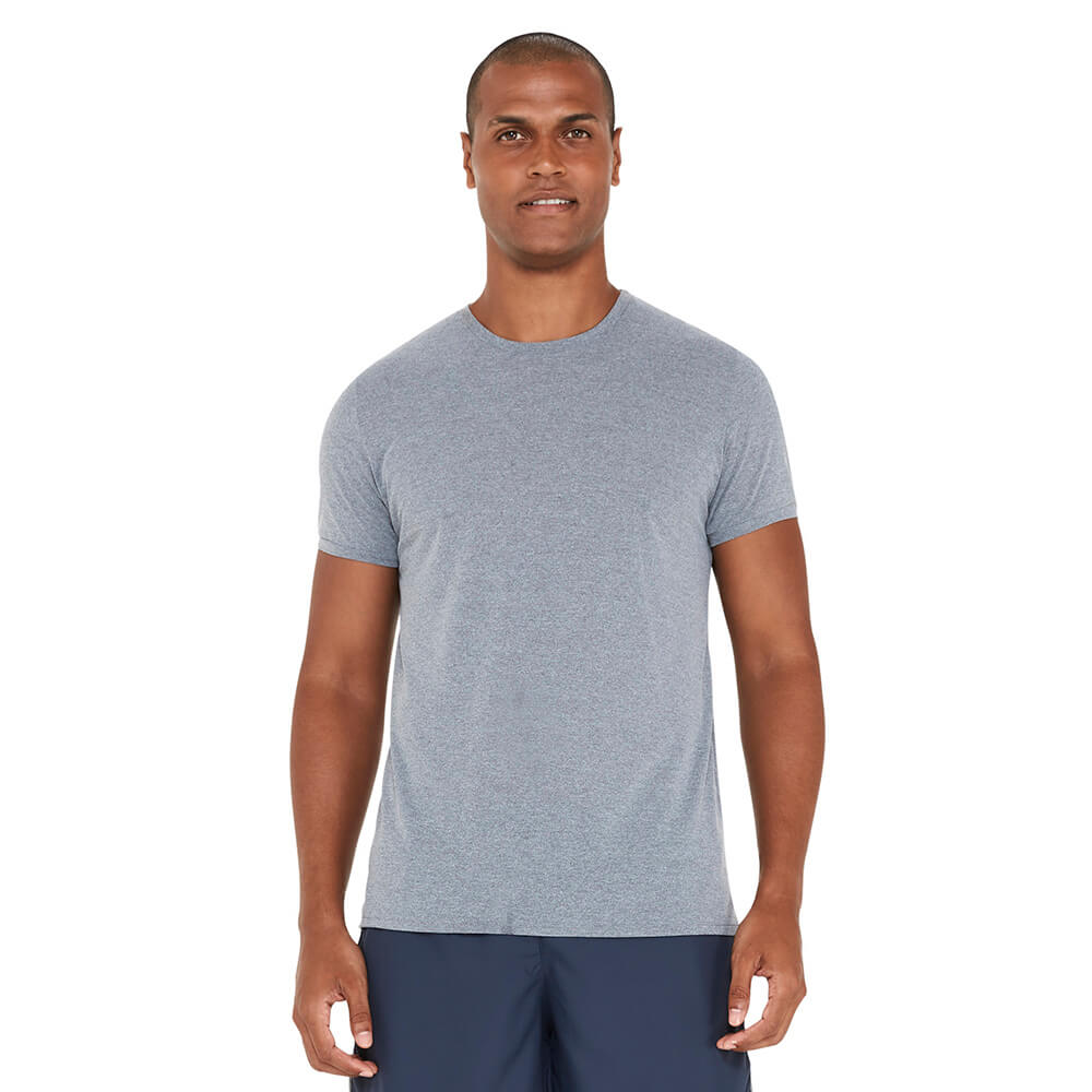 camiseta-basica-masculina-cinza-frente