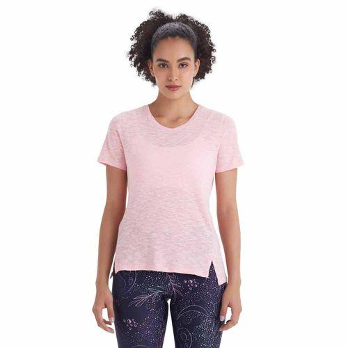 Camiseta-basica-feminina-manga-curta-neon-frente