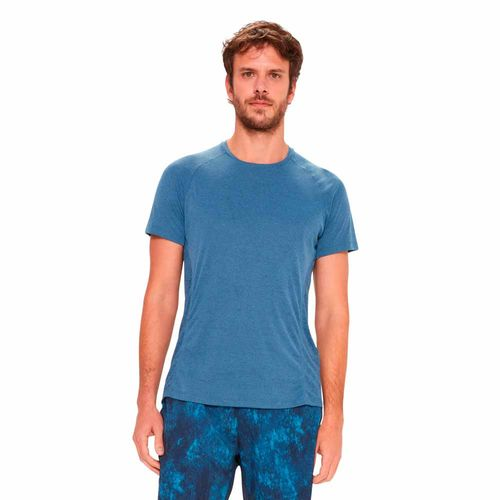 camiseta-basica-masculina-mesh-azul-frente