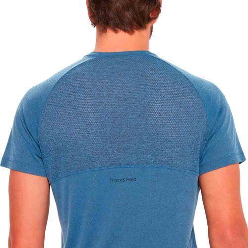 camiseta-basica-masculina-mesh-azul-detalhe