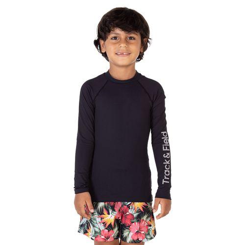 camiseta-masculina-infantil-com-protecao-solar-surf-preta-frente