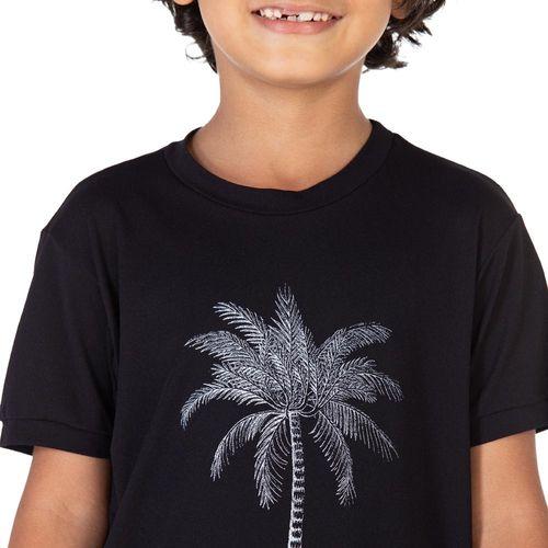 camiseta-masculina-infantil-manga-curta-thermodry-coqueiro-preta-detalhe