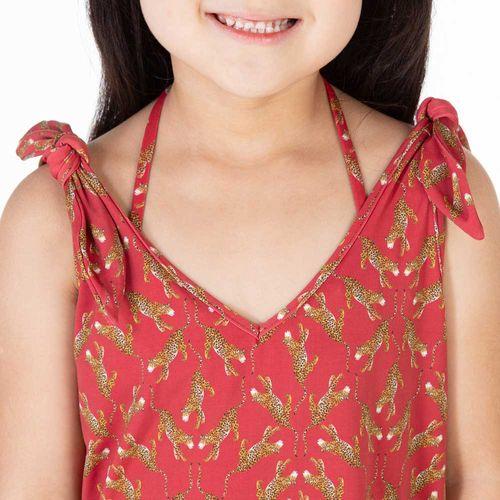 vestido-de-praia-infantil-laco-oriente-vermelho-detalhe