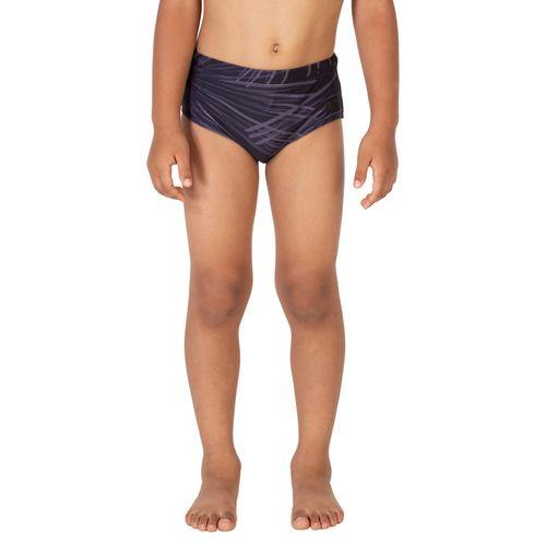sunga-masculina-infantil-estampada-larga-noturna-preta-frente