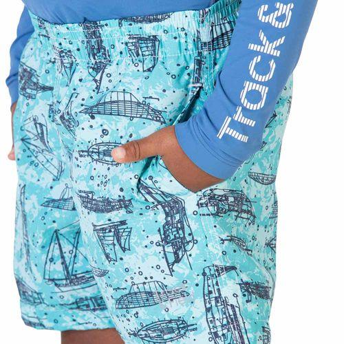 shorts-masculino-infantil-estampado-beach-barcos-azul-claro-detalhe