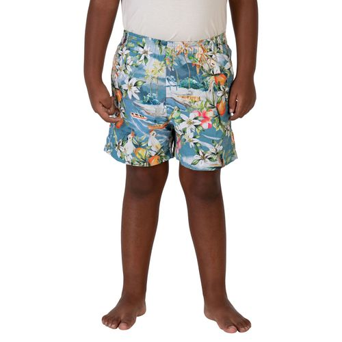 shorts-masculino-infantil-estampado-beach-tropical-azul-frente